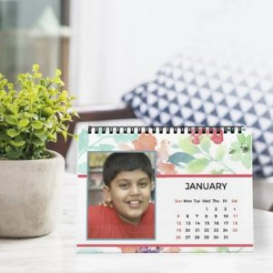 Kids Water Color desk Calendar