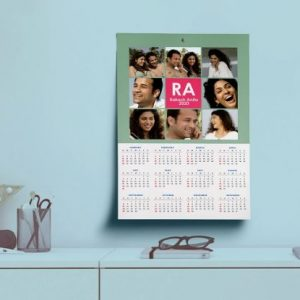 Vacation Single Sheet Calendar