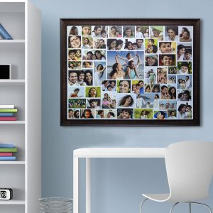 collage frame wall