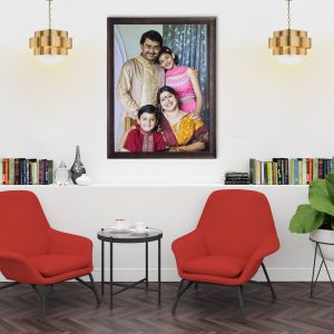 Family portrait wall frame 30×40